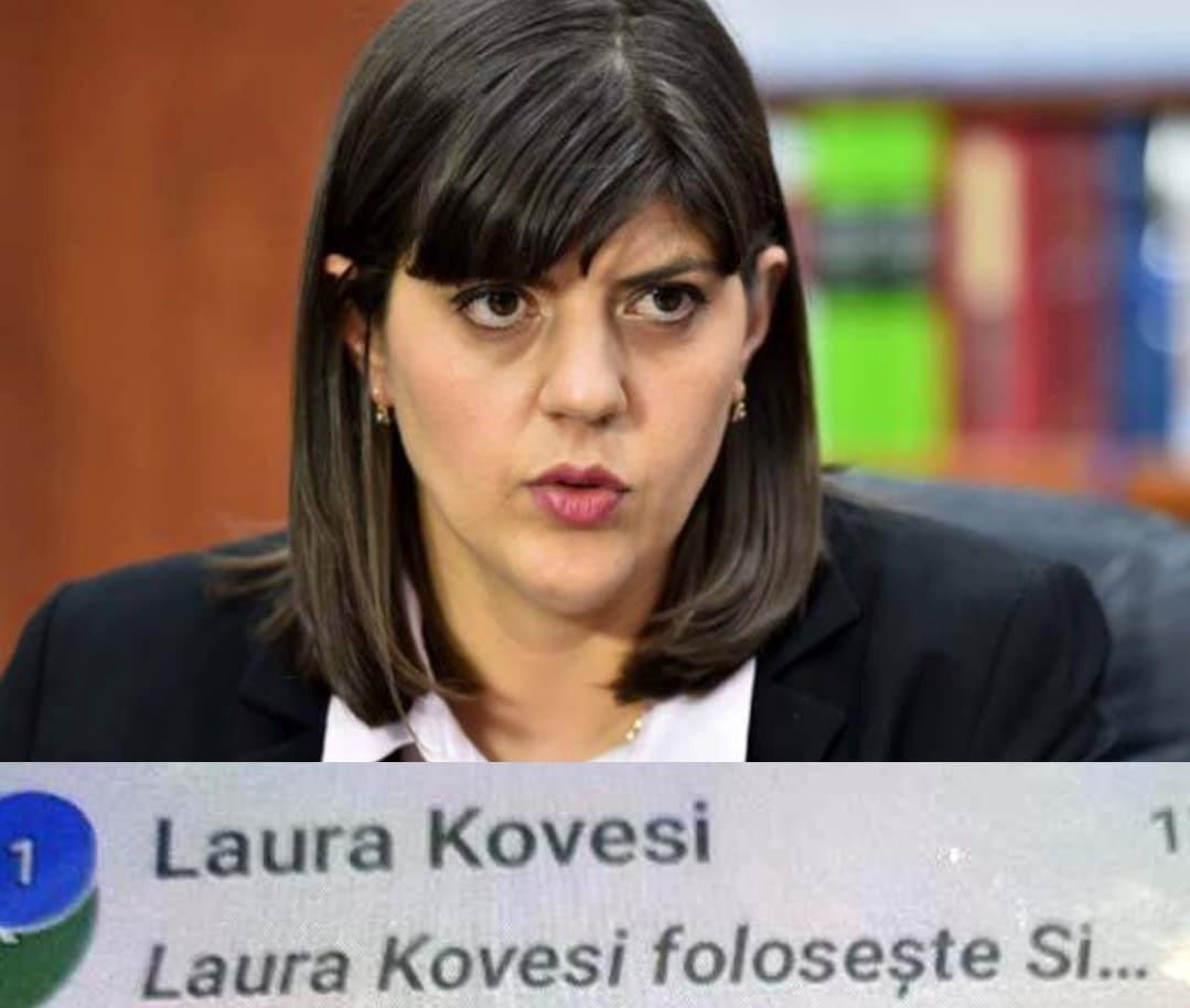 Cum fuge Laura Codruța  Kovesi de interceptarea convorbirilor