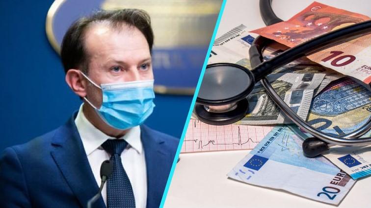 Florin Cîțu le dă bani medicilor ca să convingă pacienții să se vaccineze