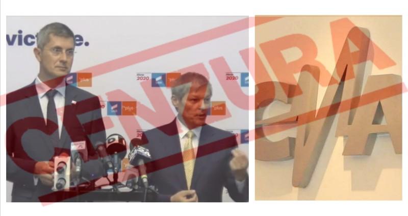 Susținătorii USR-PLUS le cer liderilor progresiști să închidă televiziunile care îi critică