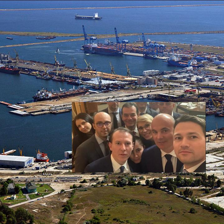Guvernul PNL scoate la vânzare Portul Constanța!