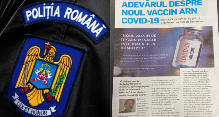 "Politistii au comis abuz in serviciu! ""S-a deschis primul dosar penal din România pentru anti-vacciniști Covid!"