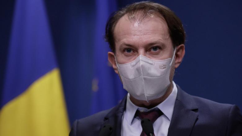 """Premierul Florin Cîțu promite băncilor acces la baza de date a MAI: """"Se va rezolva problema anul acesta"""""""